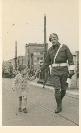 Berlagebrug - 8 mei 1945