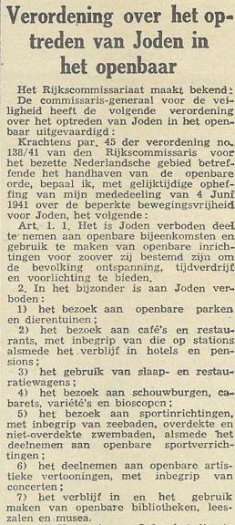 uit de Haagsche Courant